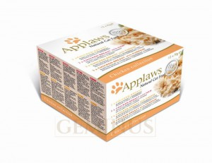 Applaws Multipak puszek Chicken Collection 12x70g
