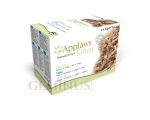 Applaws Cat Tin Multipack 6x70g - Multipak puszek Kocieta