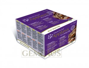 Applaws Cat Tin Multipack 12x70  Multipak Puszek w Galaretce