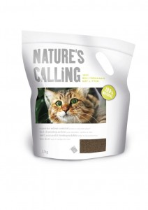 Żwir-Nature's Calling Cat Litter 2.7kg
