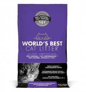 Kukurydziany Żwir - World's Best Cat Litter - Lavender 6.35kg