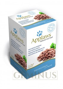 Applaws Cat pouch Jelly Multipack 5x50g - Ryba